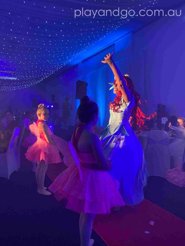 The princess arrive at The Royal Princess Ball Image Credit Susannah Marks