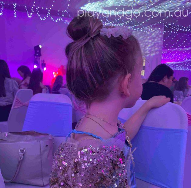 Watching the princess arrive at the Royal Princess Ball Image Credit Susannah Marks