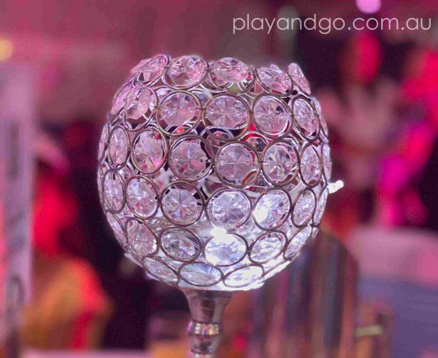 Table decorations at the Royal Princess Ball Image Credit Susannah Marks