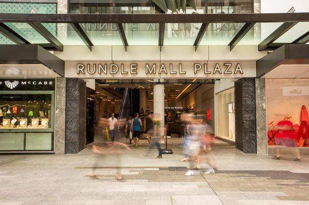 rundle mall plaza