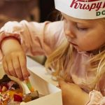 school holiday krispy kreme decorating