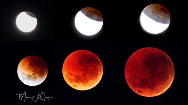 supermoon eclipse Marie Gasper