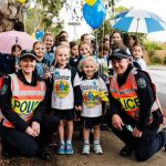 National Walk Safely to School Day