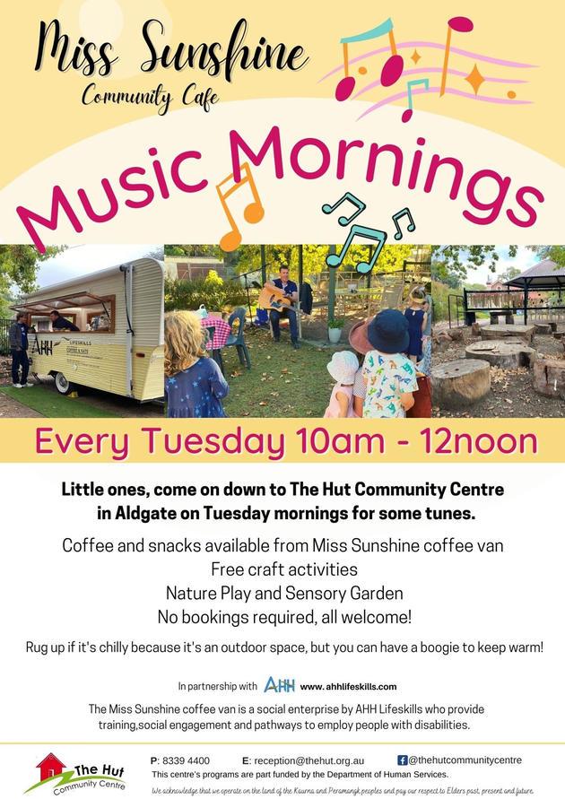 Miss Sunshine Music Mornings