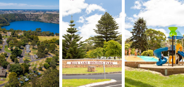 blue lake holiday park mount gambier