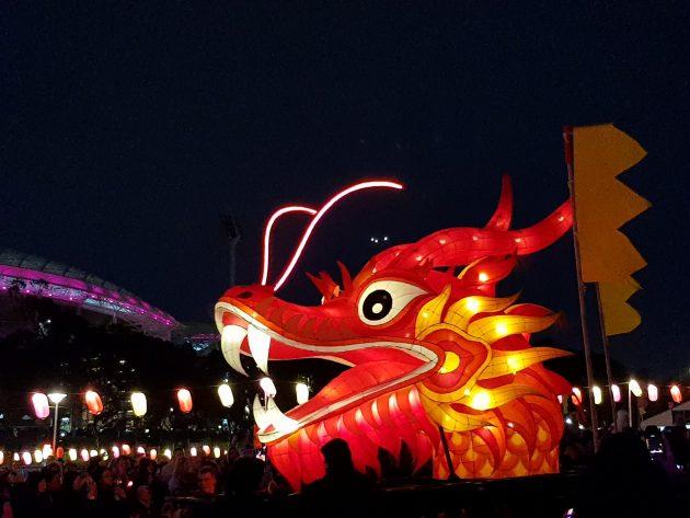 OzAsia Moon Lantern Parade