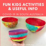 Fun Activities for kids plus useful covid info