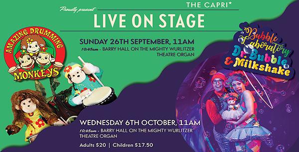 Capri Theatre Live Stage Shows