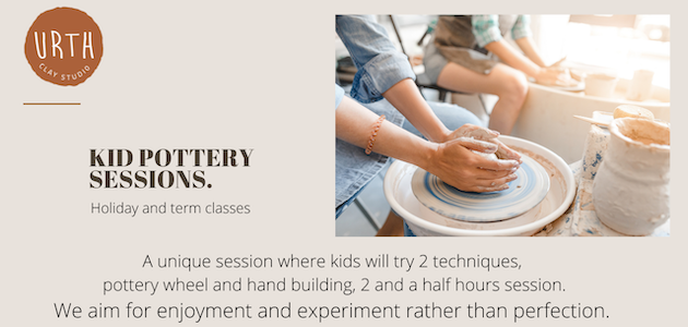 Pottery classes Holiday Adelaide