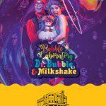 bubble show with mini milkshake