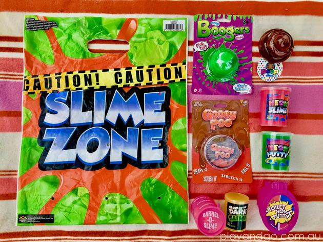 showbags.com.au slime zone showbag