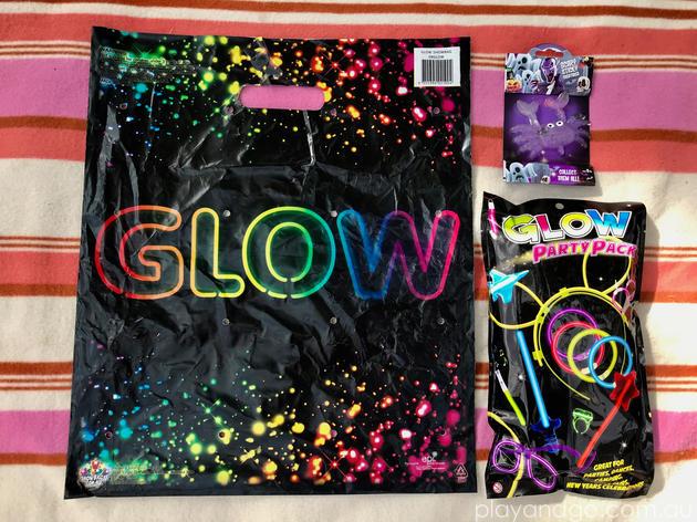 showbags.com.au glow showbag