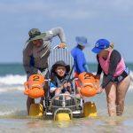 beach wheelchair hire